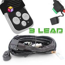 40A 12V Wiring Harness Kit Remote Control Switch for Fog/LEDWork Light Bar 3Lead