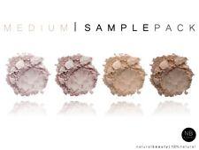 4 Sample Medium Pack Natural Loose Bare Mineral Matte Foundation Powder Makeup