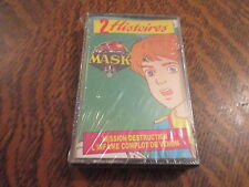 cassette audio 2 histoires mask mission destruction - l'infame complot de venom