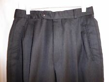 Mint$185 30x26 Hugo Boss Charcoal Gray Mens WOOL Pants ITALY e48 Short Nordstrom