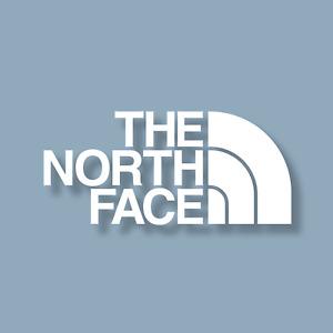 The North Face Logo Decal Sticker   Laptop Car Truck Window   Rougarou Designs