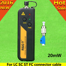 Mini 20mW Visual Fault Locator Fiber Tester FC-LC Connector For LC/FC/SC/ST