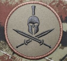 SPARTAN ARMY USA AIRSOFT BADGE FOREST VELCRO® BRAND FASTENER PATCH