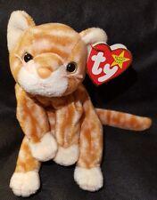 TY BEANIE ORIGINAL BABY STAR 1999 Amber the Cat Beanie Baby