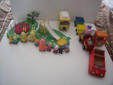 PEPPA PIG  PLAYPARK, MINI VEHICLES,  FIGURES, TRAIN,  CAR - BUNDLE/LOTS