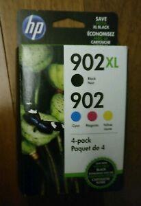 Genuine HP 902XL Black/902 Color Ink Cartridges T0A39AN OfficeJet 6958 Exp 2022