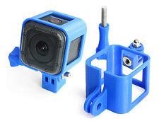 Ultra Light Frame + Tripod Mount f. GoPro HERO 4 Session Rahmen Stativ  Blue