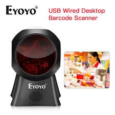 Eyoyo Omnidirectional Desk Laser Barcode Scanner Platform Scanner Reader for Pos