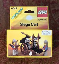 Vintage LEGO Castle System: Siege Cart #6012 (1986), Unopened