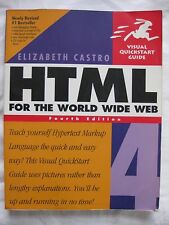 HTML 4 for the World Wide Web by Elizabeth Castro (1999, Paperback)