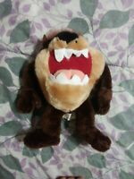 Vintage Looney Tunes Taz Tazmanian Devil Plush Toy 1997 Ace 10in VTG
