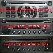 PEUGEOT RD3 RD4 RD45 STEREO VIN CODE SERVICE 207 307 3008.5008 807 EXPERT