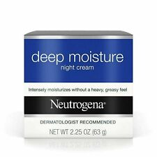 Neutrogena Deep Moisture Night Cream With Glycerin & Vitamin D3, 2.25 oz