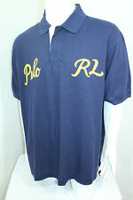 Polo Ralph Lauren Men Custom -Fit Varsity Mesh Polo Shirt XSmall Color Blue NWT