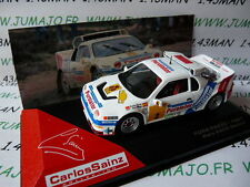 RCS3M voiture 1/43 IXO altaya Rallye C.SAINZ : FORD RS200 1987 RACE Madrid