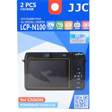 JJC LCP-N100 hard polycarbonate LCD Guard Film Screen Protector Canon N100 S120