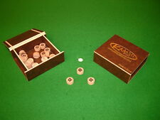 KAMUI (ORIGINAL) BROWN MEDIUM  SNOOKER & POOL TIPS (Genuine Kamui) in STOCK !