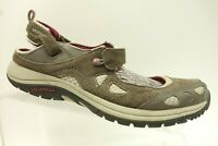 Merrell Brown Leather Mesh Mary Jane Strap Casual Walking Shoes Women's 10