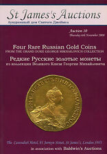 Rare Russian Gold Coins Catalog Auction From Grand Duke Georgi Mikhailovich Book