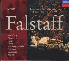 Verdi: Falstaff; Solti, Van Dam (2CD's, 1993, London) GOOD / FREE SHIPPING