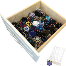 Bee Neat Honeycomb Drawer Organizer for Socks, Underwear, Baby Clothes and More