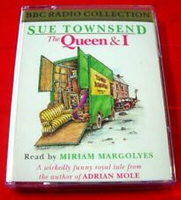 Sue Townsend The Queen And I 2-Tape Audio Miriam Margolyes Comedy/Royal Family