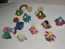 Lot of 5 + lots of parts- Disney Club Penguin 2 inch  PVC Figures FAST SHIP lot4