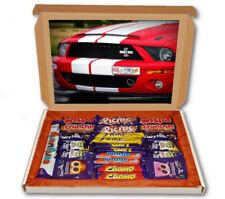 Shelby GT500 Mustang 24 Bar Cadbury Chocolate Hamper Personalised Gift Box