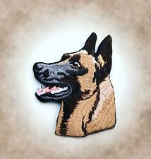 Malinois Aufnäher Patch Belgischer Schäferhund IPO Hundesport Badge