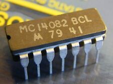 10x MC14082BCL Dual 4-Input AND-gate, Motorola