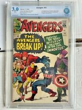AVENGERS 10 CBCS 3.0 GD/VG First Appearance of Immortus aka Kang No Staples CGC