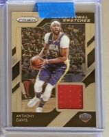 2018-19 Prizm Anthony Davis Jersey Patch Relic! Los Angeles Lakers!