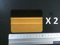 2 -  GOLD FILZRAKEL  KFZ Folien . Aufkleber - Vollfolierung - Auto Folien - Set