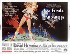 Barbarella 1968 U.S. Half Sheet Poster