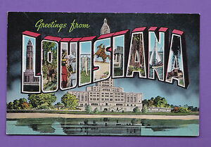 LOUSIANA GREETINGS FROM LOUISIANA PC 593