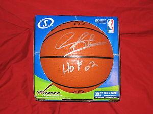 Dennis Rodman Autographed Full Size Basketball Inscribed HOF 02 error PSA/DNA