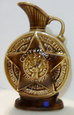Genuine Regal China JIM BEAM Liquor Decanter STAR Centennial Elk 1868-1968 NICE!