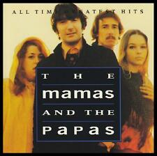 MAMAS AND THE PAPAS - ALL TIME GREATEST HITS CD ~ 60's / 70's PYSCHEDELIC *NEW*