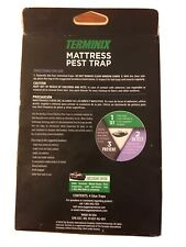Terminix T504 Bed Bug Trap Mattress Pest Trap Insects 4 Traps in 1 Pck Free Ship