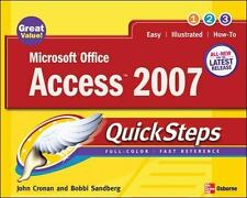 Microsoft Office Access 2007 QuickSteps (Quicksteps)-ExLibrary