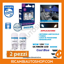 2 LAMPADINE 5W5 T10 LED 8000K PHILIPS FORD TOURNEO COURIER KOMBI 1.0 ECOBOOST KW