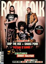 "ROCK & FOLK #545 ""Skip the Use/Shaka Punk,Hallyday,R.Stones,Depche Mode""REVUE+CD"