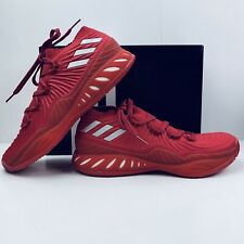 Adidas SM Crazy Explosive Low NBA/NCAA BC Shoes All Red Men's 13 IU Team Boost