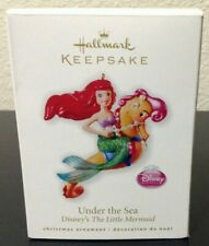 Hallmark Keepsake 2010 Under The Sea Ornament Disney The Little Mermaid