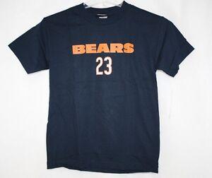 NEW Youth Kids REEBOK Chicago BEARS Devin Hester Navy Blue Orange NFL 23 T-shirt