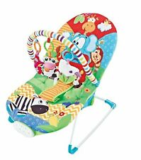 Baby Rocker Comfort Paradise Animal Bouncer Chair with *3 Position Seat Recline*