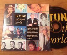 IN TUNE WITH THE WORLD - VASCO ROSSI / LITFIBA - ARTISTI VARI - PROMO CD - EMI
