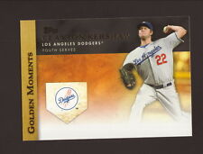 Clayton Kershaw--2012 Topps Golden Moments--Los Angeles Dodgers