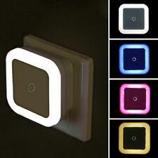 4er Set Steckdosen-Lampe LED Treppen-Leuchte Nacht-Licht Lichtsteuerung Sensor