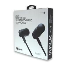 Walk Audio Bluetooth Sport Neckband Earphones Wireless Headphones *FAST UK POST*